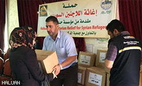 HALUAN Consistently Channeling Humanitarian Aid to Syria