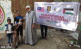 Korban Palestin Dan Syria Dilunaskan