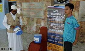 P.Pinang Gencar Tabung Gempabumi Aceh
