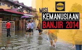 Kutipan Derma Banjir: HALUAN Kesan Penipuan