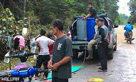 Relawan: Kesan Banjir Ibarat Pasca Tsunami