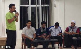 Mahasiswa UIA Kuantan Bersama Intifadha 3