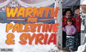 Warmth 4 Palestin & Syria Disember 2016