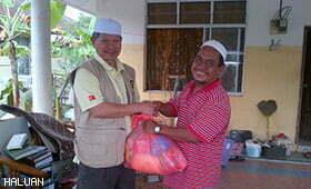300 Relawan HALUAN Berbakti Sepanjang MKB13