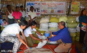 HALUAN Lancar Kempen Kutipan Rohingya