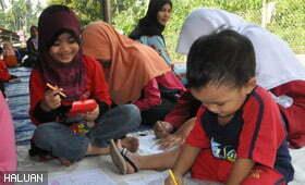 KKH Santuni Masyarakat Desa di Baling