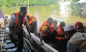 Bilik Gerakan Banjir HALUAN Kelantan Ditutup, Terengganu Tidak Berubah