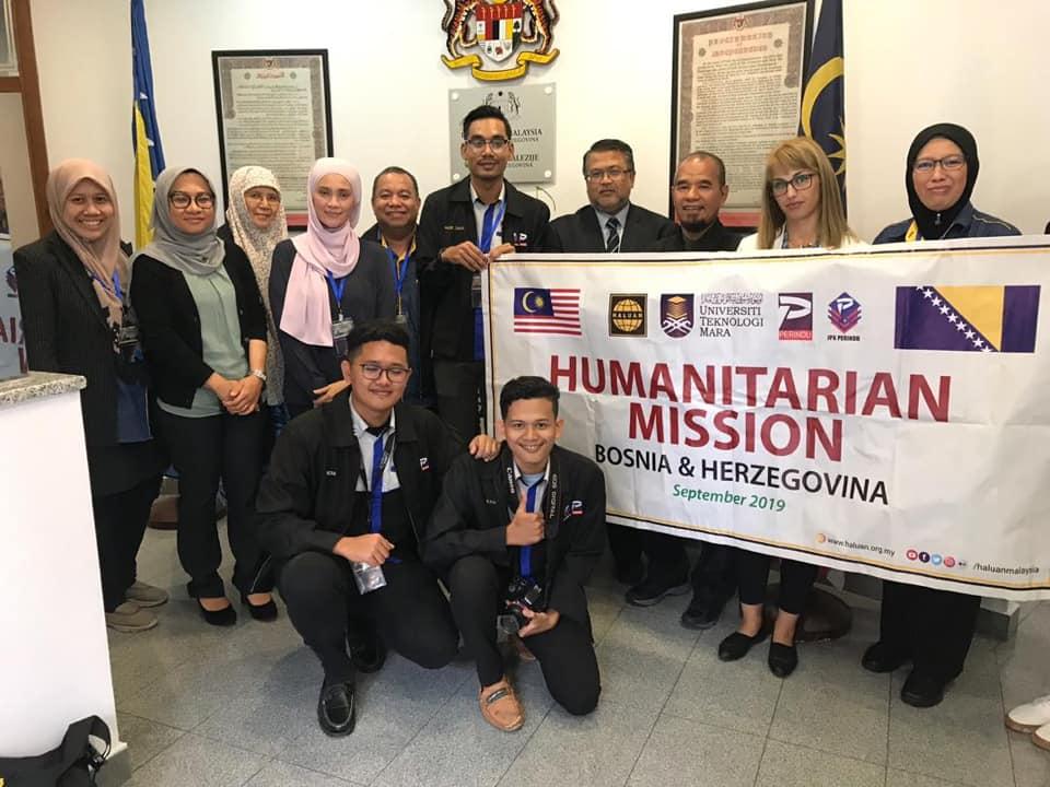 HALUAN Kunjungi Kedutaan Bosnia & Herzegovina