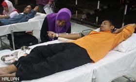 HALUAN Pahang Anjur Derma Darah Ramadhan