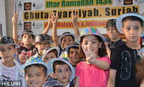 Aidilfitri Bersama Anak-anak Syria Di Bawah Cengkaman Kezaliman