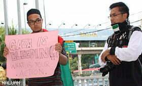 Flash Mob 4 Gaza Kumpulkan Lebih RM4,600