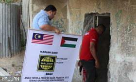 Misi Kemanusiaan Gaza Sumbangsih Rakyat Malaysia dan Indonesia