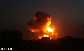 Zionis Lancar Serangan Udara ke Atas Gaza