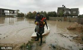 Gaza Dilanda Banjir