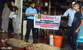 Presiden HALUAN Sempurnakan Amanah Korban di Gaza