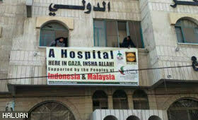 HALUAN Bekerjasama Bangun Hospital Besar Di Gaza