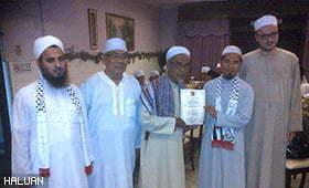 Keprihatinan Kariah Masjid BBU Menyentuh Hati Syeikh Omar.