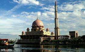 """Urusetia Forum """"Jom Cerita Islam"""" Lawati Masjid Putra"""