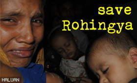 HALUAN Gandingi NGO ASEAN Bantu Rohingya