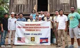 Misi Kebajikan dan Kemanusiaan Kemboja 2012