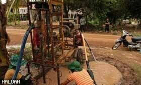 Pemasangan Tube Well