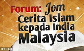 Jom Sertai Forum Ceritakan Islam Kepada Rakan India Malaysia