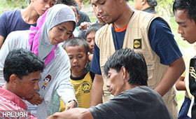 KKH Berbakti Kepada Yang Terpinggir di Sabah
