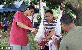Ibadah Korban HALUAN Bersama Masyarakat Malaysia