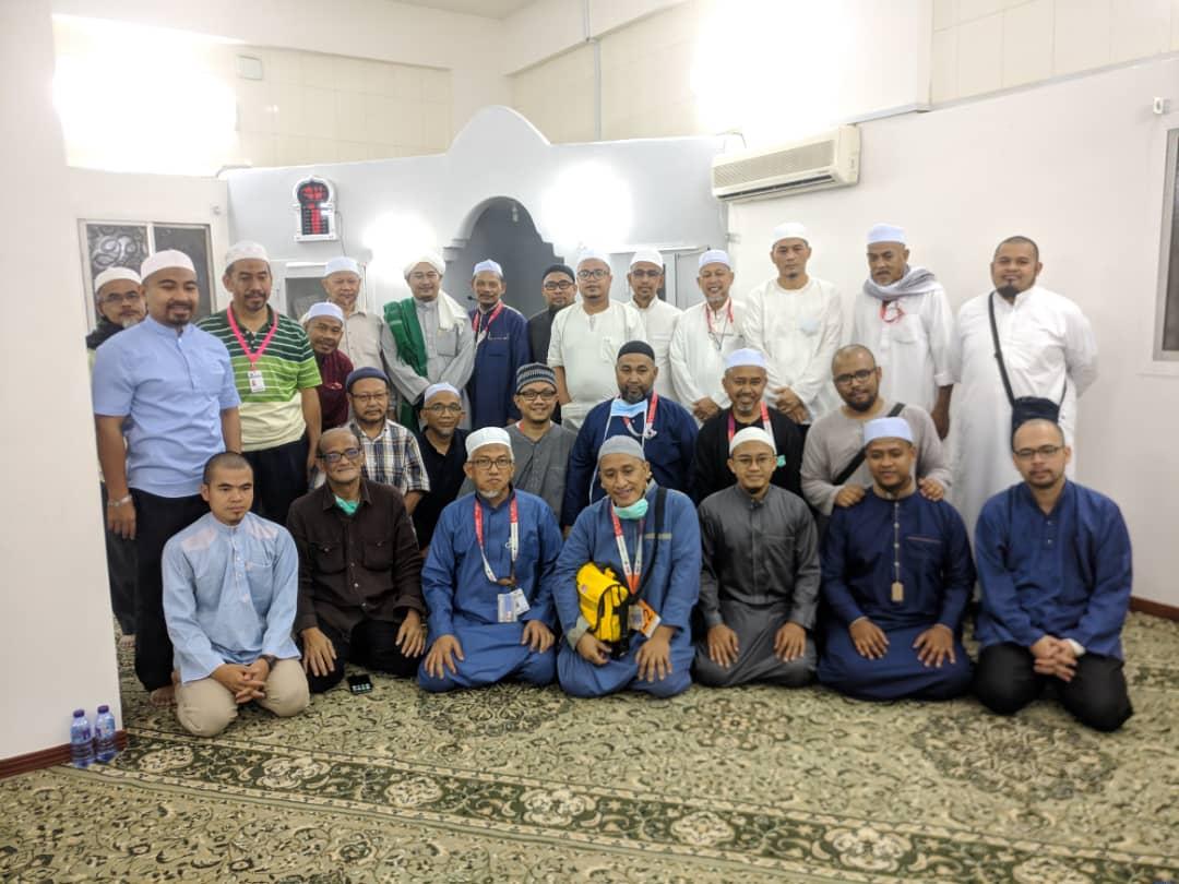 Presiden Santuni Ahli HALUAN di Mekah