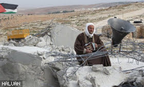 Israeli Army Demolishes Mosque In Al Mufaqarah, South Hebron Hills