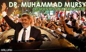 Sekalung Tahniah Buat Dr Mohammed Morsi – Presiden Republik Arab Mesir Yang Baru