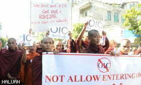 Myanmar Henti Usaha Bantuan OIC di Arakan