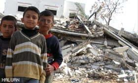 Tentera Zionis Musnah Kebun dan Roboh Rumah Warga Gaza