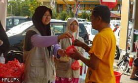 HALUAN Pahang Perhebat Kerja Amal Di Bulan Ramadhan