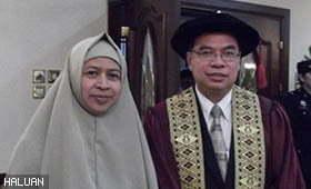Timbalan Presiden Terima Gelaran Profesor Emeritus