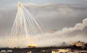 Randa Fears Not Death Due to Cancer-causing White Phosphorous Bomb