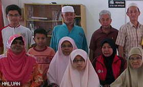 HALUAN Pulau Pinang santuni Pusat Perkhidmatan Kebajikan dan Persaudaraan Islam