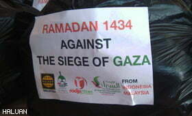 Ramadhan Against the Siege of Gaza : Operasi Sembako Untuk Gaza