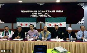 HALUAN Sertai Gabungan Selamatkan Syria