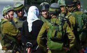 Tentera Zionis Tangkap Pelajar Wanita
