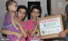 Bantuan Sembako Ramadhan 1434 di Syria dan Sempadan Lubnan