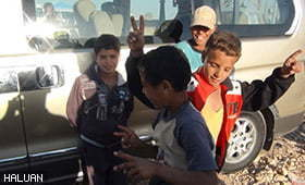 HALUAN Menyantuni Anak-anak Syria