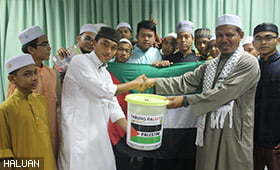 Pelajar Tahfiz Al Quran Turut Prihatin Dengan Palestin