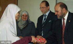 Siswi HALUAN Menang Anugerah Terbaik di Mesir