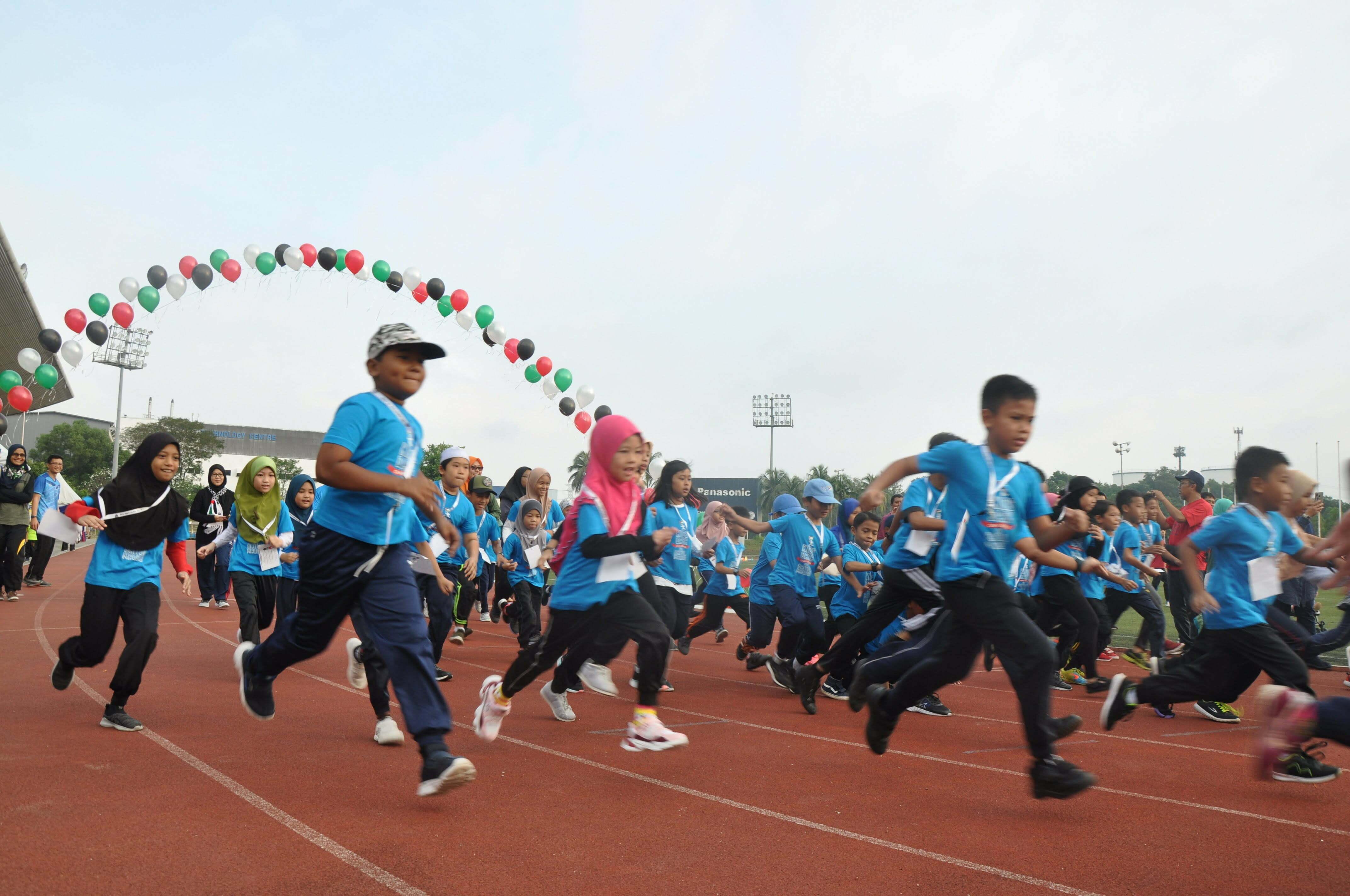 Semarak Cinta AL-AQSA di Kids Dash Challenge