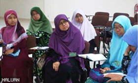 Santapan Rohani di AGM KKH 2011