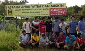 Program Korban Asrama HALUAN Penyayang Langkawi
