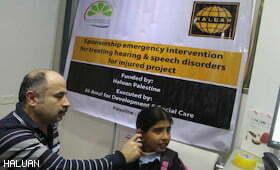 Rakyat Malaysia Taja Terapi Pendengaran Anak Palestin