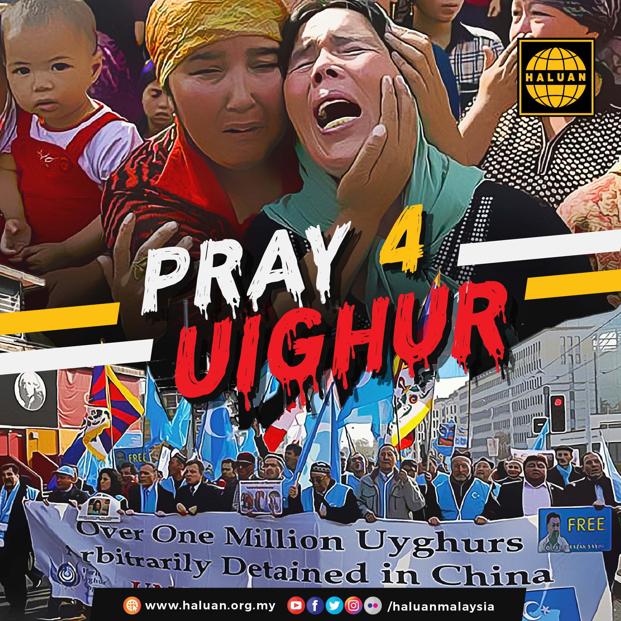 Halt Ethnic Cleansing of Uyghurs
