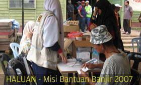 Catatan Relawan HALUAN Melaka & Negeri Sembilan di Segamat